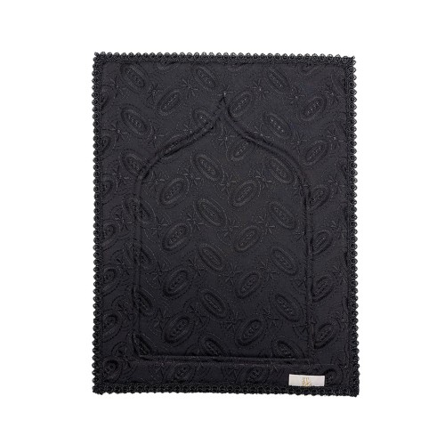Mini Sajada - Black (Small Lace)