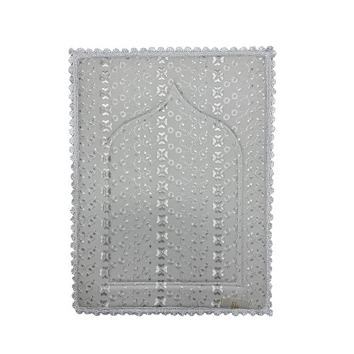 Mini Sajada - Grey (Small Lace)