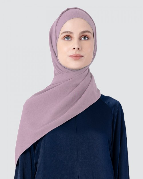 Milda Shawl - Light Pink Purple