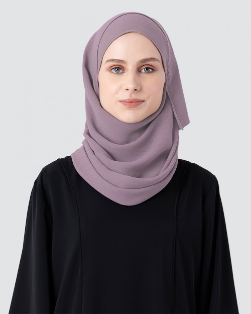 Milda Shawl - Medium Dusty Mauve Purple