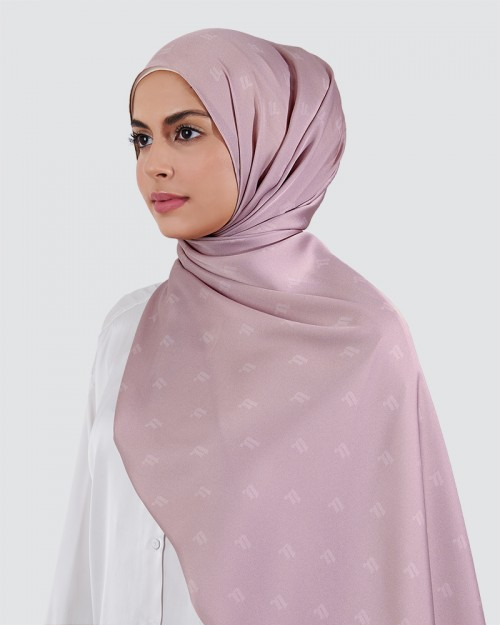 Moda Silky Satin - Light Pink Purple