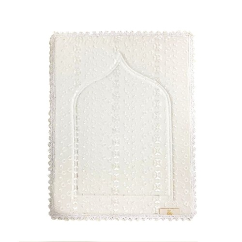 Mini Sajada - White Small Lace