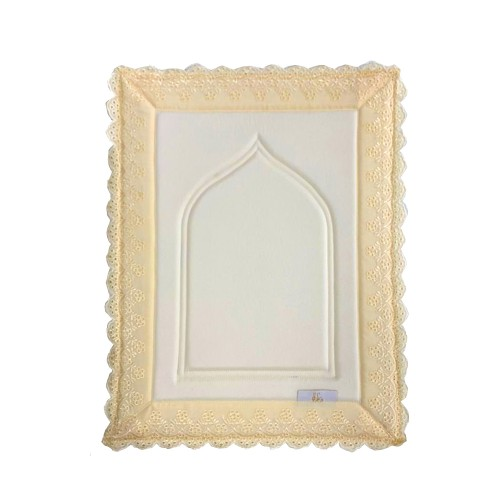 Mini Sajada - Light Yellow Cream